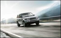 chauffeur driven Range Rover Sport from Voyager Executive Travel